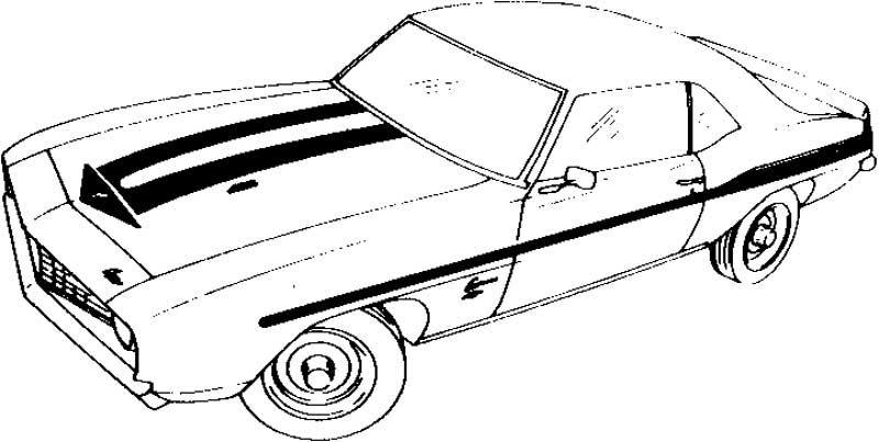 camaro coloring pages 69 Chevy Camaro Coloring Pages | Coloring Pages camaro coloring pages