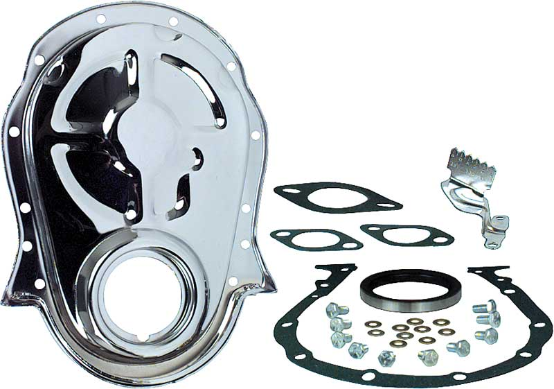 Chevrolet Big Block 396-454 Chrome Timing Cover Set