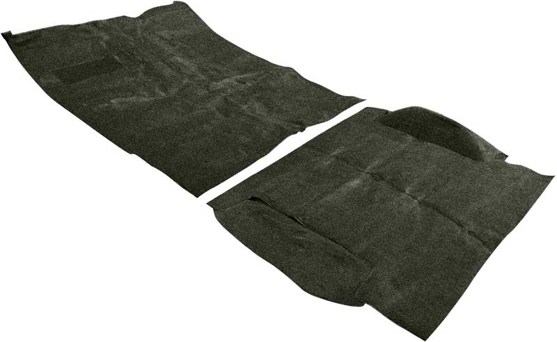 1969-72 Blazer/Jimmy With CTS / High Hump Dark Green Complete Molded Loop Carpet Set