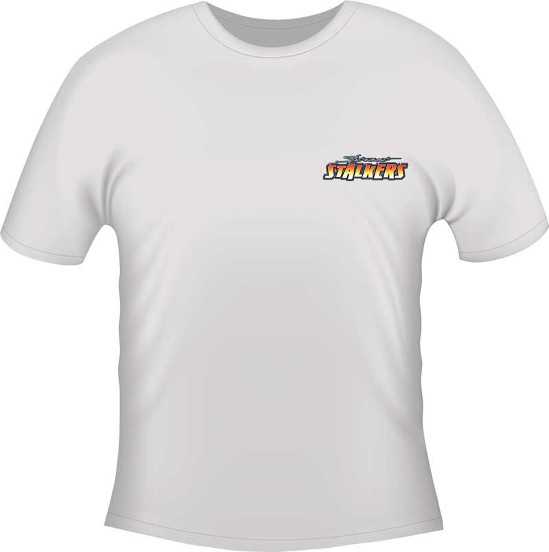 Camaro Street Stalkers T-Shirt - White - Small