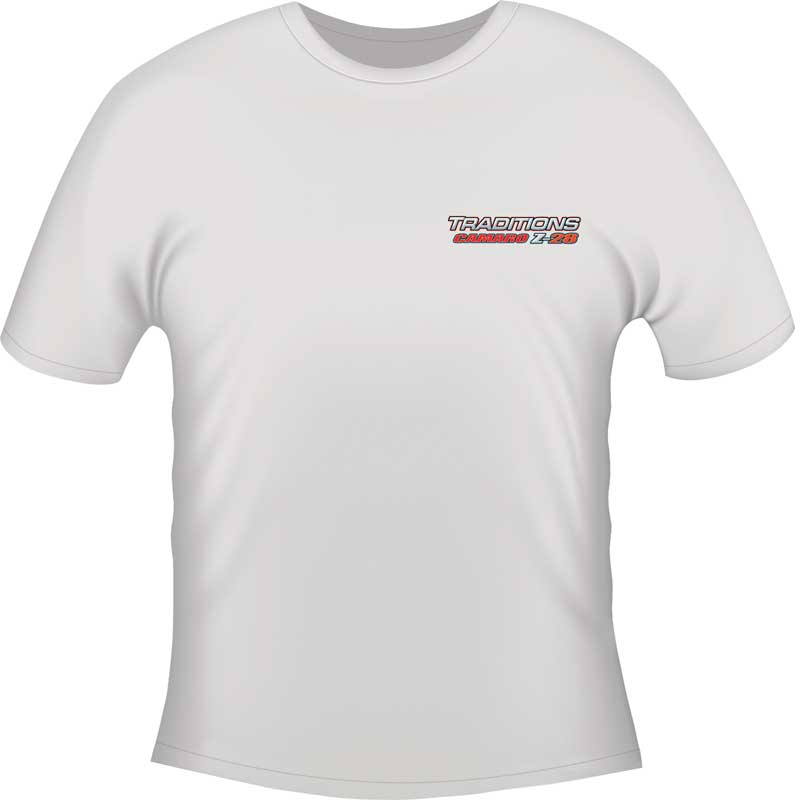 Large White Z-28 Traditions T-Shirt