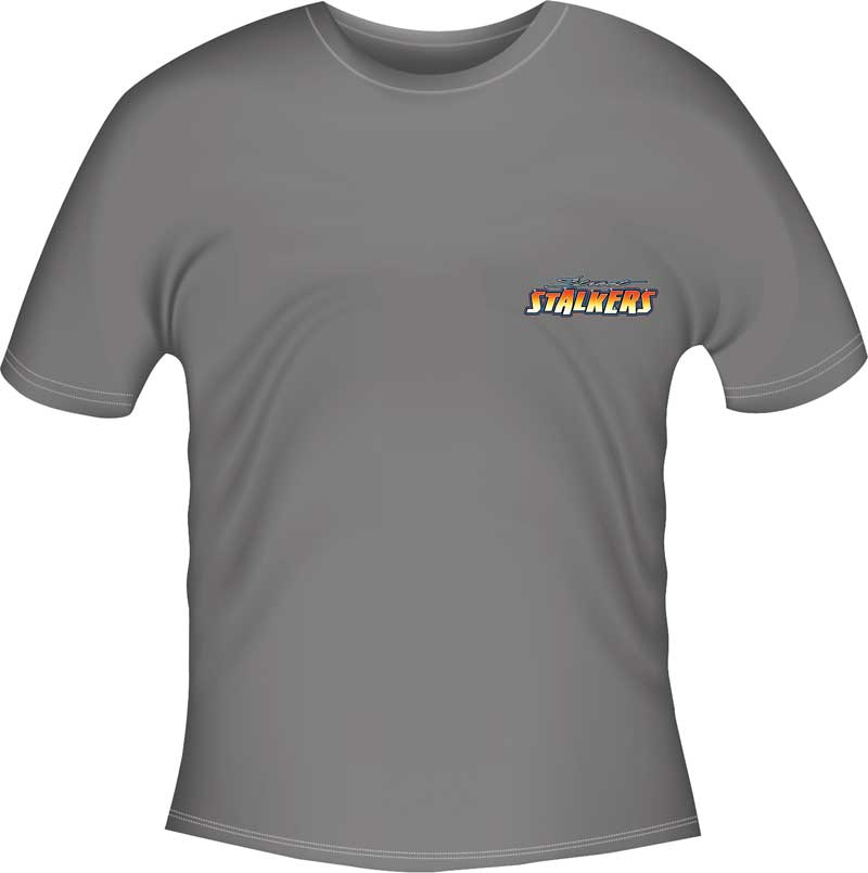 Camaro Street Stalkers T-Shirt - Gray - XXXX-Large