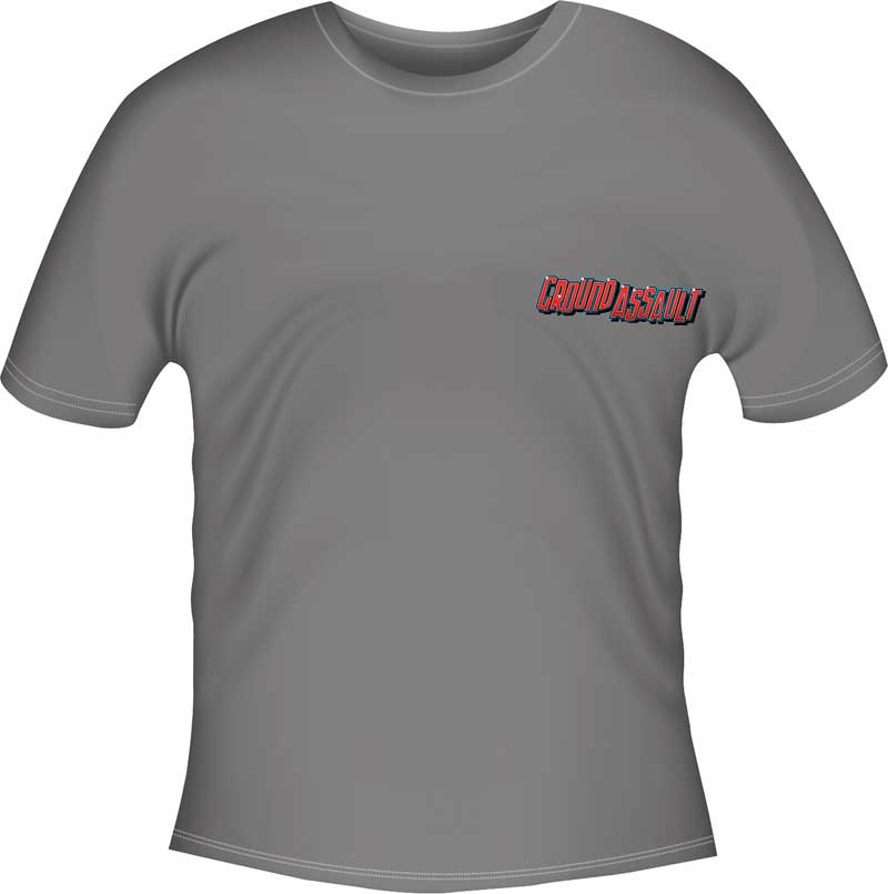 Small Gray Ground Assault T-Shirt