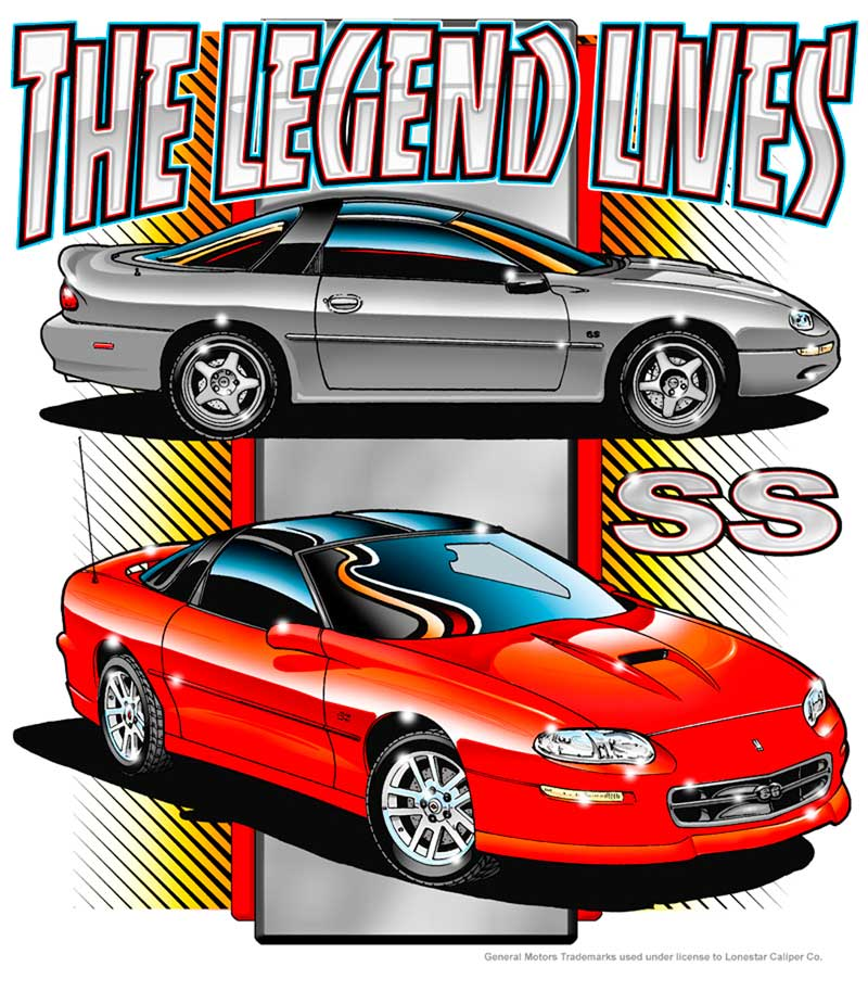 The Legend Lives T-Shirt - Black - Small