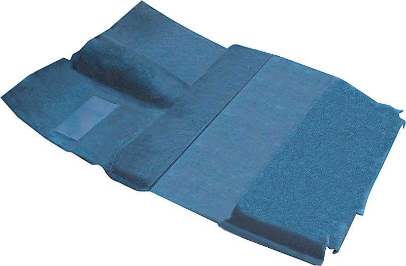 1975-80 Chevy/GMC Crew Cab Pickup 2 Or 4 Wd / TH400 Trans Blue Green Molded Cut Pile Carpet Set