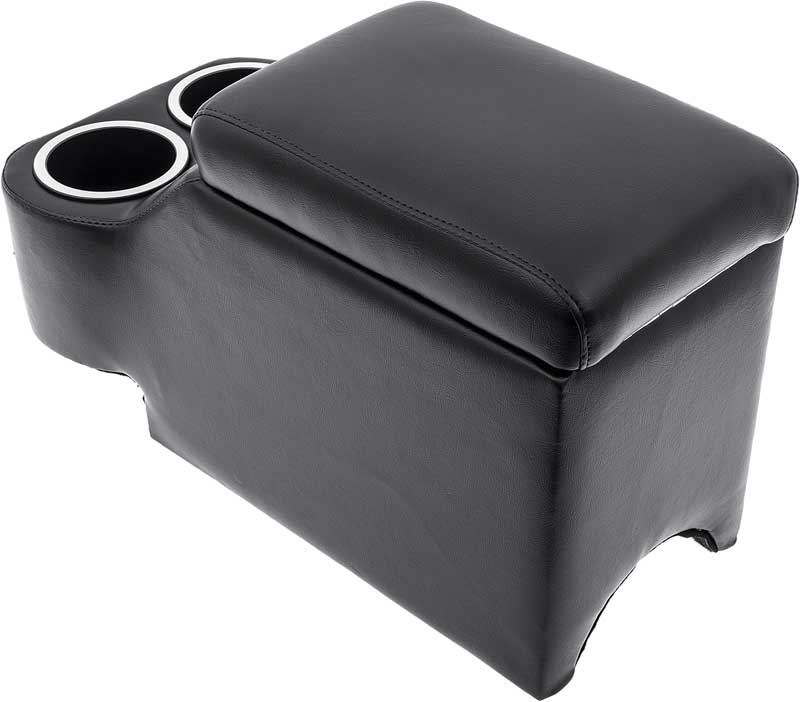 Classic Consoles Hump Hugger Bucket Seat Console - Black
