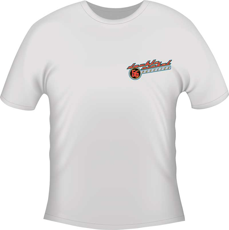Double Nickel T-shirt - White - Small