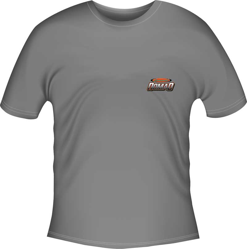 Lowmad Nomad T-shirt - Gray - Xx-Large