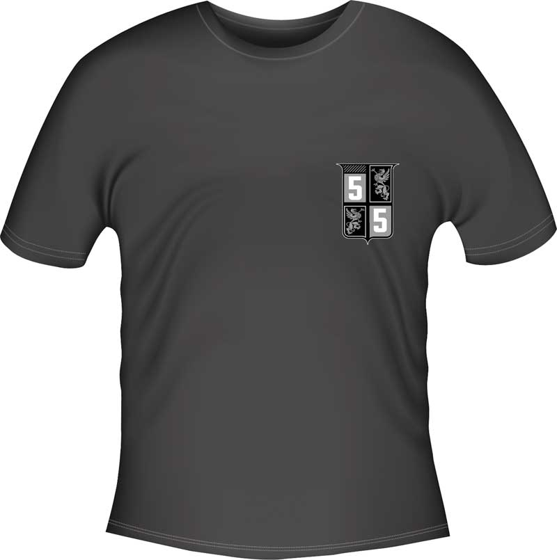 Blown 55 T-shirt - Black - Large