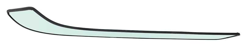 1955-57 Chevrolet 4 Door Wagon Green Tint RH Curved Quarter Glass