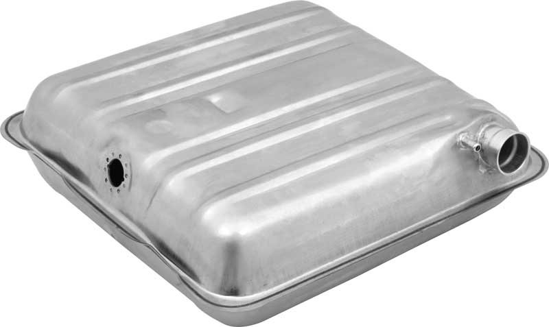 1957 Chevrolet Pass Cars (Ex Wagon) - Fuel Tank 16 Gal W/ Round Corners - Nitern Coated Steel