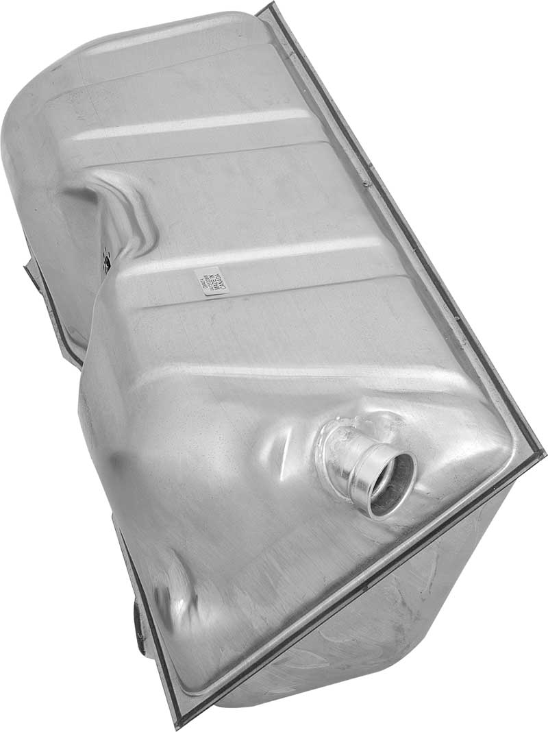 1955-56 Chevrolet Station Wagon (Ex 9-Passenger) - 17 Gallon Fuel Tank - Nitern Coated Steel