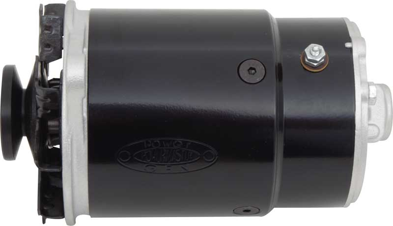 Powergen 12 Volt Alternator Light Drive Black Short With 5.95 Mounting Dimensions