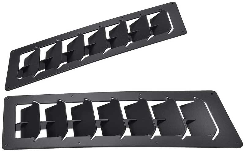 Track Spec 4x12 Universal Angled Hood Louvers