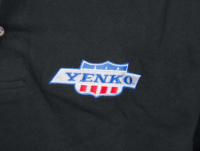 Large Black Yenko Polo Shirt