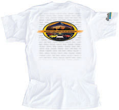 Classic Industries Sunset T-Shirt White - Large