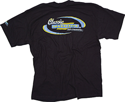 Large Black Classic Industries Logo T-Shirt