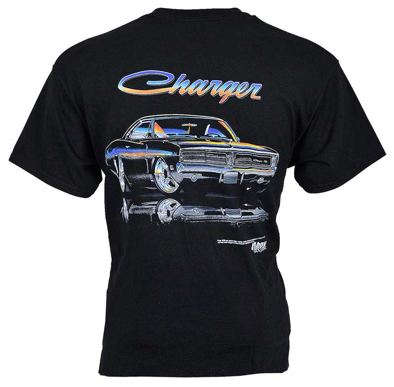 Dodge Charger T-Shirt Black X-Large