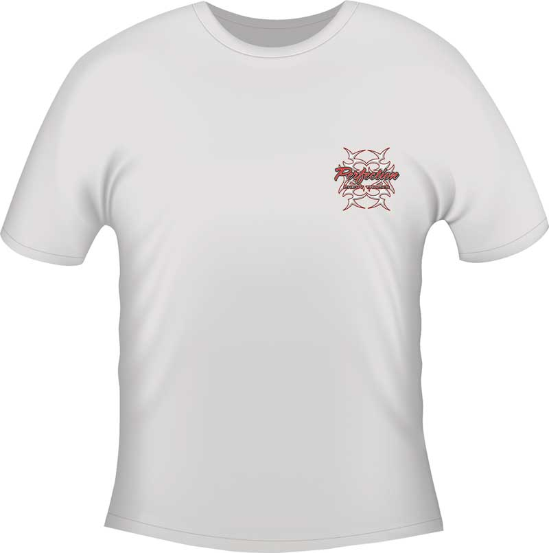 Perfection T-shirt - White - Small