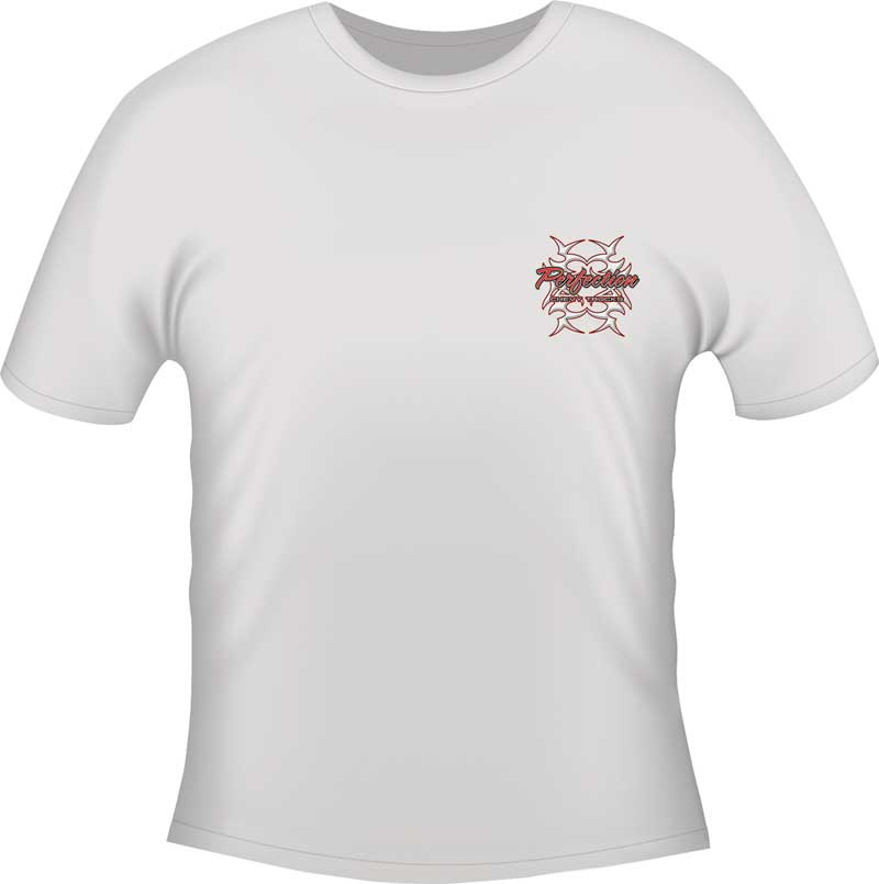 Perfection T-shirt - White - X-Large