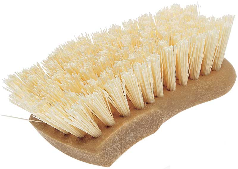 Tire Brush Strong Bristles 6 Handle