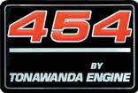 "1991-96 ""454 By Tonawanda Engine"" Valve Cover Decal"