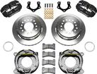 Forged Dynapro Low-Profile Rear Parking Brake Set - Mopar/Dana - 8*3/4 With 2.5 Axle Offset