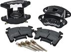 1982-92 F-Body Wilwood Replacement Single Piston Front Caliper Kit Black Powdercoat
