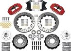 "1955-57 Chevy Wilwood 6-Piston Red Caliper With 12.88"" Drilled/Slotted Rotors Kit"