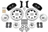 "1979-87 Regal  Dynapro 6 Front Brake Set with 12.19"" Drilled Rotors and Black 6-Piston Calipers"