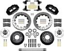 "1982-92 Camaro / Firebird - Superlite 13"" 6R Big  Front Brake Kit - Drilled Rotors w/ Black Calipers"