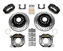 "1965-73 DynaPro Rear Brake Kit w/11"" D/S Rotors, BLK Caliper for 2.36"" Offset Big Ford Bearing"