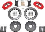 1967-74 Detroit Speed Subframe Superlite 6R 14 Big Brake Kit - Red Calipers