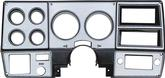 1978-80 Gm Truck Dash Bezel Brushed Aluminum With Air Conditioning