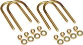 LEAF SPRING U-BOLT SET 3 DIAMETER AXLE TUBE