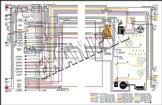 1963 Chevrolet Truck Full Colored Wiring Diagram