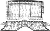 1967-69 F-Body Rear Seat Springs - Narrow