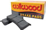1967-87 GM Wilwood BP-10 W6AR / W4AR Brake Pads (Type 6617)