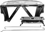 1966-67 Chevy II/Nova Trunk Divider/Package Shelf