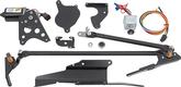 1969 F-BODY; 1969-74 NOVA 2-SPEED HIDDEN WINDSHIELD WIPER CONVERSION WITH DELAY SWITCH
