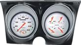 1967-68 Camaro / Firebird Classic Instruments White Velocity Series Dash Gauge Assembly
