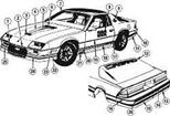 1982 Camaro Pace Car Hood Decal Kit