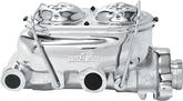 "1-1/8"" Bore Chrome Master Cylinder, 9/16"" And 1/2"" LH Side ports"