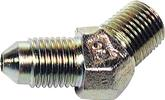 "Wilwood 45° - 3 Male to 1/8""-27 NPT Male Caliper Inlet Fitting"
