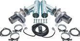 DOUG'S STAINLESS STEEL ELECTRIC EXHAUST CUTOUTS 2-1/2 COMPLETE SET