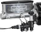 WILWOOD BALL BURNISHED FINISH 4 WHEEL DISC 1 BORE MANUAL BRAKE TANDEM MASTER CYLINDER