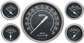 1959-60 Impala Traditional Series Gauge Set - Speedo, Fuel, Oil, Temp, Volts
