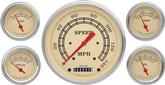 1959-60 Impala Vintage Series Gauge Set - Speedo, Fuel, Oil, Temp, Volts