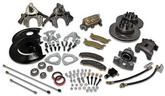 1968-1969 Standard Front Drum to Disc Brake Conversion Kit - V8 - with spindles