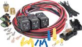 Painless 185&Deg;F On / 175&Deg;F Off Dual Fan Activation Relay Set